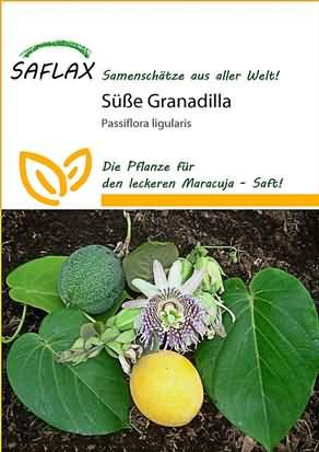 Süße Granadilla Passionsblume Samen