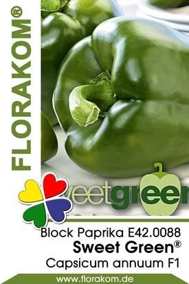 Blockpaprika Sweet Green®
