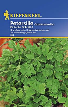 Petersilie Einfache Schnitt 3 Samen
