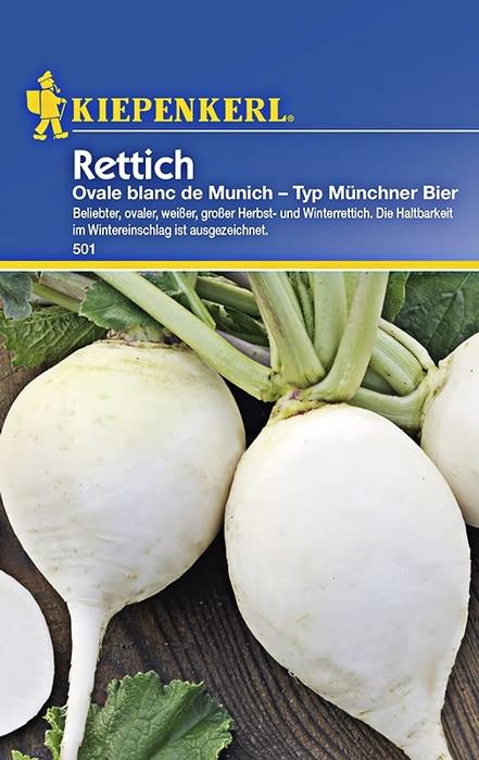 Rettichsamen Ovale Blanc De Munich Florakom