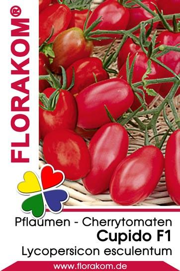 Pflaumen - Cherrytomaten Cupido