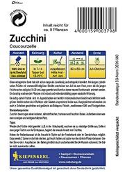 Zucchini Coucourzelle
