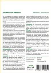 <hr>Australischer Teebaum <hr>Samen<hr>