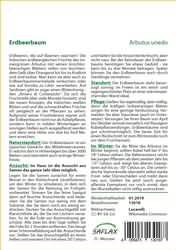 <hr>Erdbeerbaum <hr>Samen<hr>